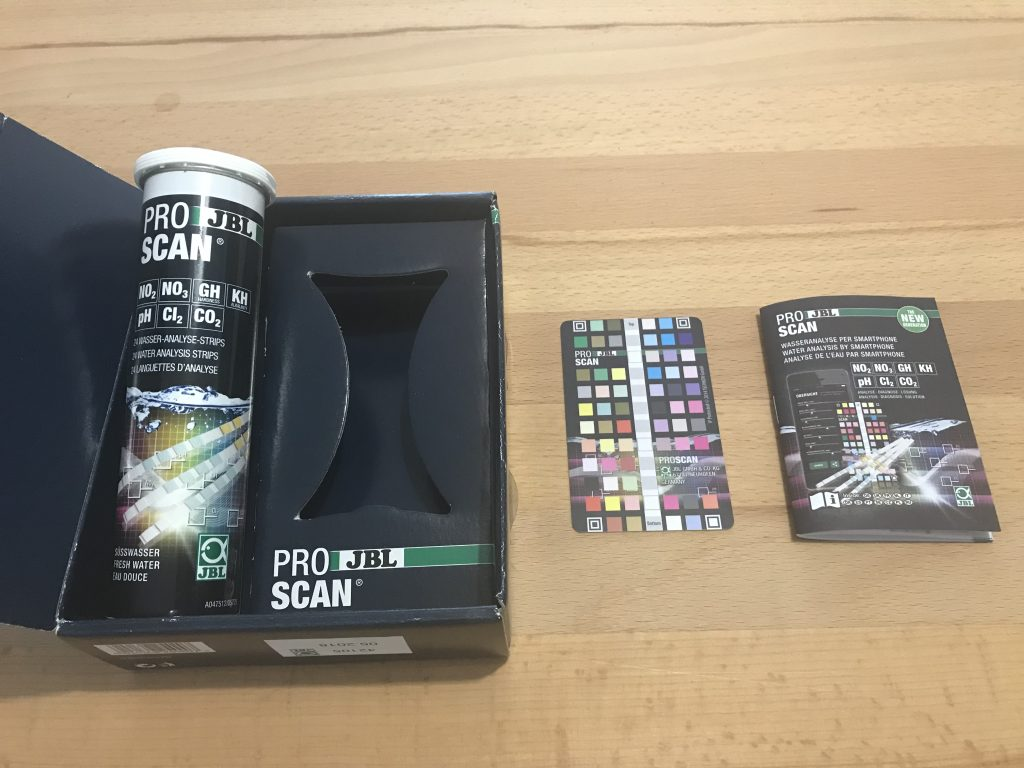 Contents of JBL Pro Scan